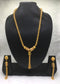 Richness Engraved  Gold Plated Necklace Set
