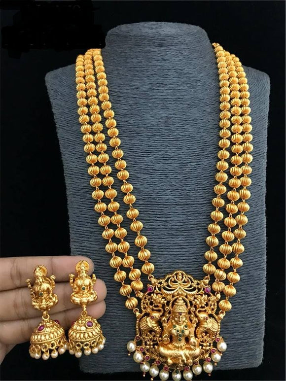 Goddess Jewellery Temple Necklace Set