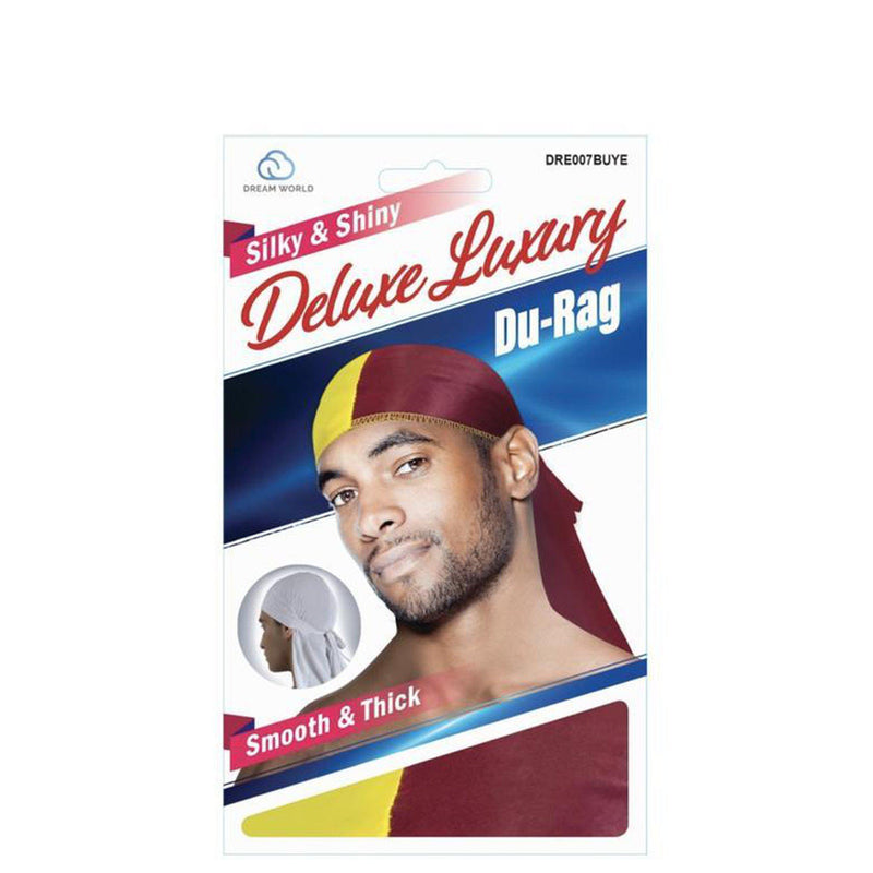DELUXE DURAG SMOOTH & THICK TWO TONE-HAIR ACCESSORIES-Darling Hair USA