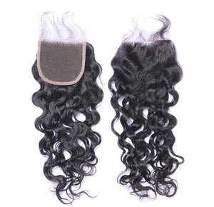 4X4 CLOSURE EXTENSION CURLY-HUMAN HAIR-Darling Hair USA