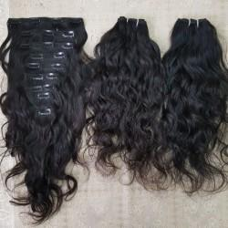 "REMY INDIA HAIR EXTENSIONS - <b><h3>3 PACK BUNDLE W/14"" CLOSURE</b></h3>-HUMAN HAIR-Darling Hair USA"
