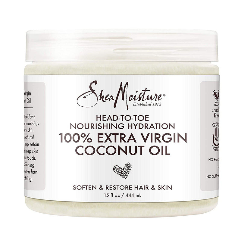 SHEA MOISTURE 100% EXTRA VIRIGIN COCONUT OIL-HAIR CARE-Darling Hair USA