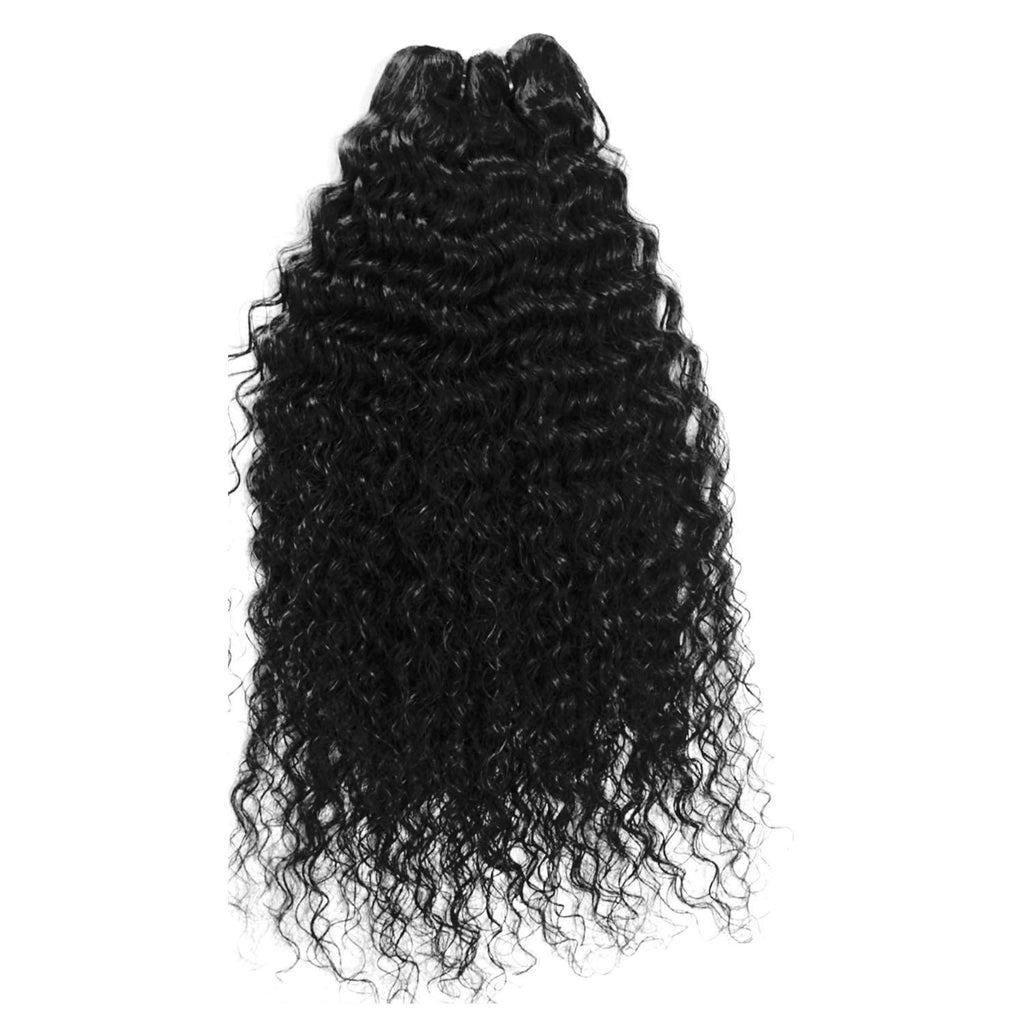 INDIA HUMAN HAIR DEEP WAVY HAIR EXTENSIONS-HUMAN HAIR-Darling Hair USA