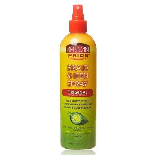 BRAID SHEEN SPRAY 12OZ-HAIR CARE-Darling Hair USA