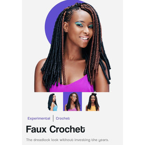 FAUX LOC CROCHET HAIR EXTENSIONS-CROCHET BRAIDS & HAIR-Darling Hair USA