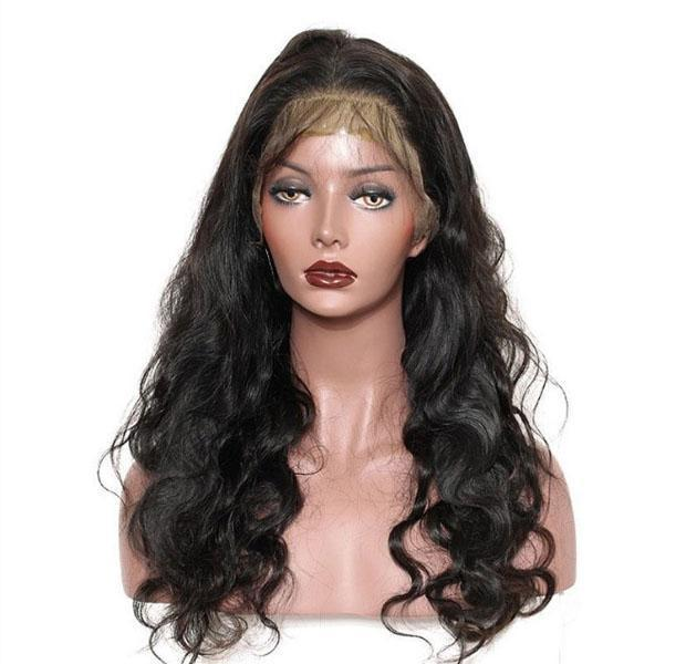 NATURAL WAVY WIG WITH 13X6 CLOSURE-HUMAN HAIR-Darling Hair USA