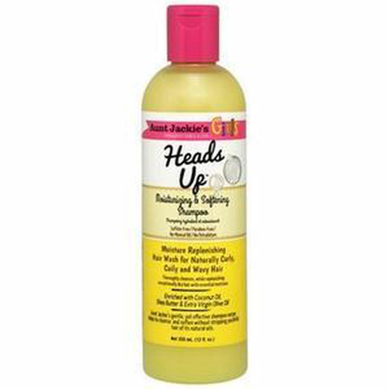 Girls Curls & Coils Heads Up Moisturizing and Softening Shampoo 12oz-HAIR CARE-Darling Hair USA