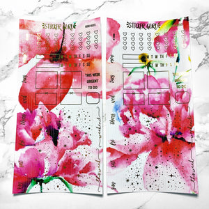 Shannon // Gold Foil Hobonichi Weeks Sticker Kit