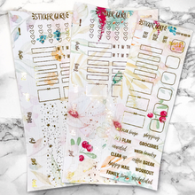 Ashley // Gold Foil Hobonichi Weeks Sticker Kit