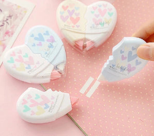 7 LEFT! Two Pieces of a Heart Correction Tape