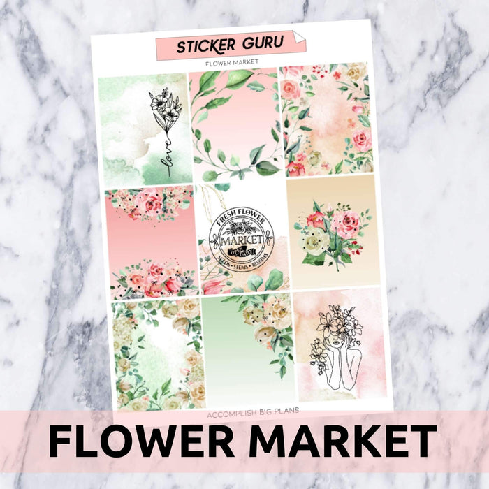 Flower Market // Rose Gold Foil Full Kit