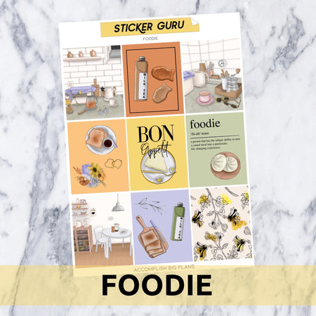 Foodie // Gold Foil Full Kit