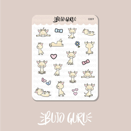 Giraffe Stickers