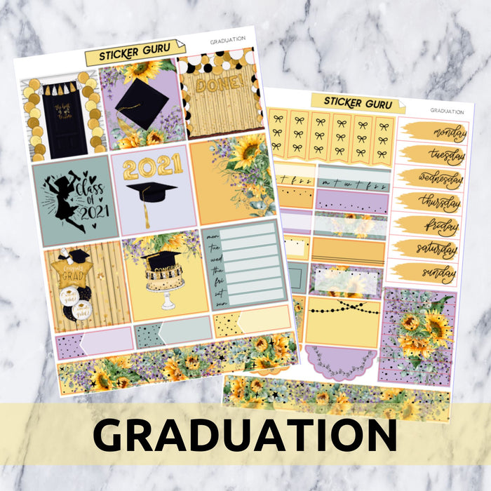 Graduation // Gold Foil Essentials Kit