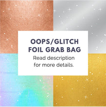 4 LEFT! Oops Foiled Stickers Grab Bag