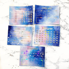 FOILED Pastel Galaxy // Mini Sticker Sheets (for any planner)