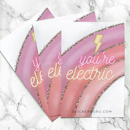 Journaling Card - You're Electric