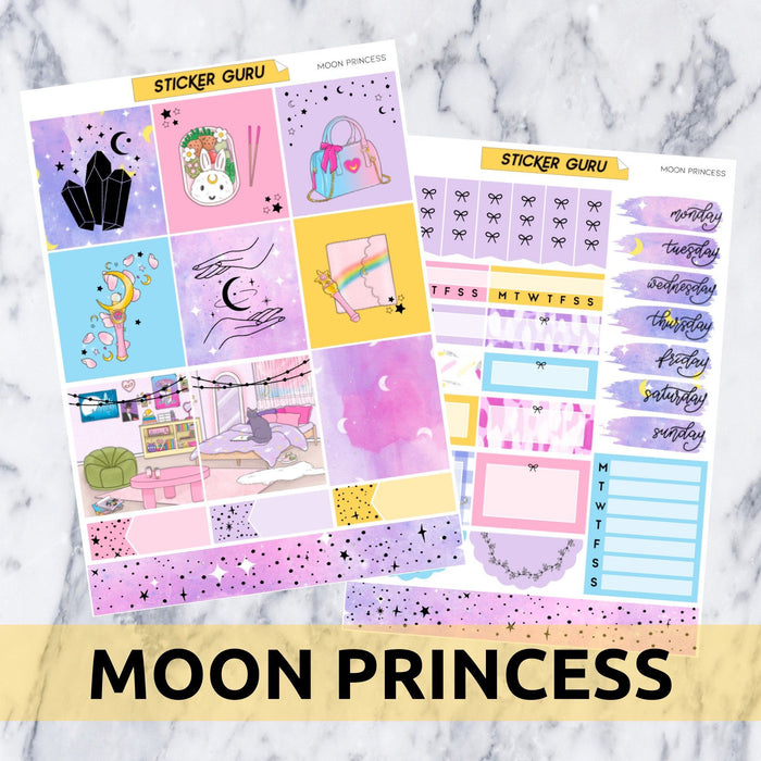 Moon Princess // Holographic Foil Essentials Kit