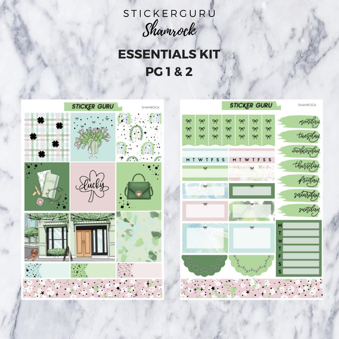 Shamrock // Gold Foil Essentials Kit