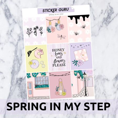 Spring In My Step // Rose Gold Foil Full Kit
