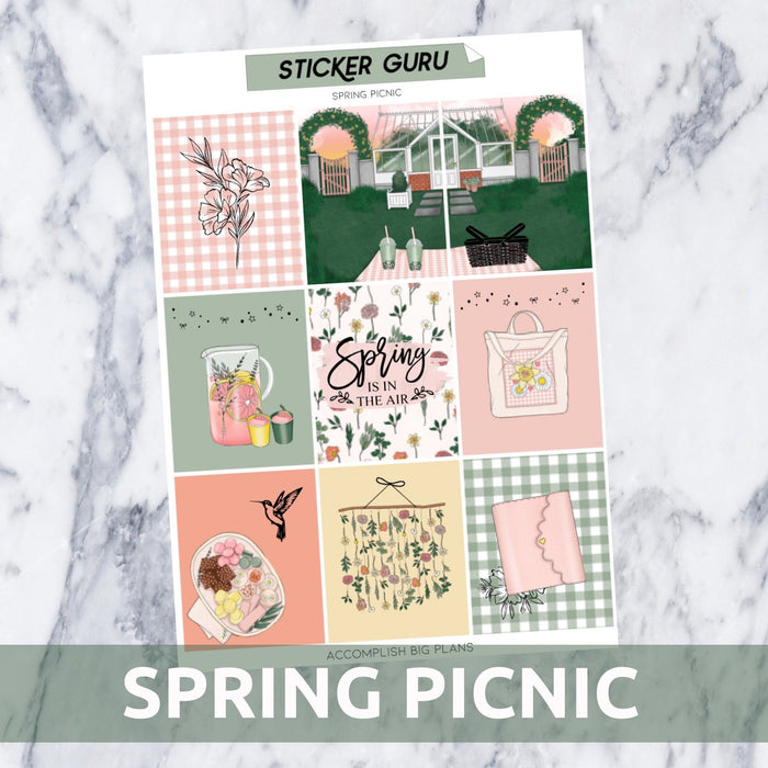 Spring Picnic // Light Gold Foil Full Kit