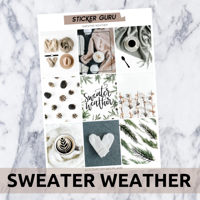 Sweater Weather // Silver Foil Full Kit