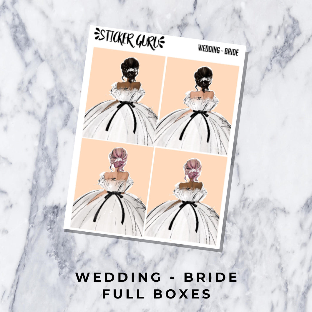 Wedding - Bride // Full Boxes
