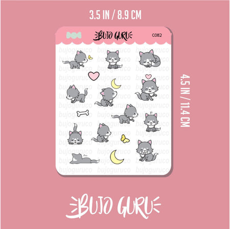 Wolf Stickers // Bullet Journal & Planner Stickers // Bujo Guru