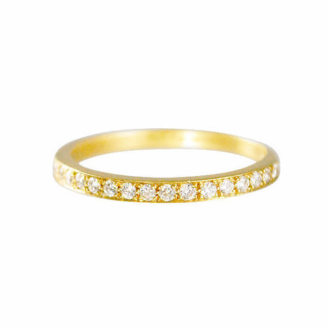 Gillian Conroy 18k I Am Love Eternity Diamond Band