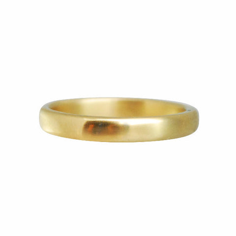 Gillian Conroy 18k Gold Narrow Rounded Band Ring