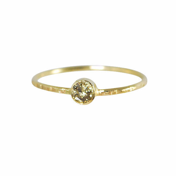 B.C.E. Jewelry 14k Champagne Diamond Ring