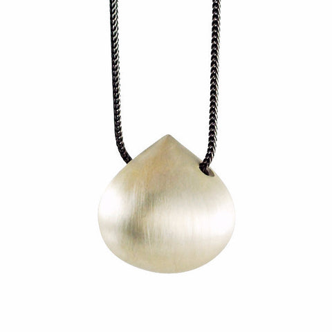 Gabriella Kiss Silver Hazelnut Necklace