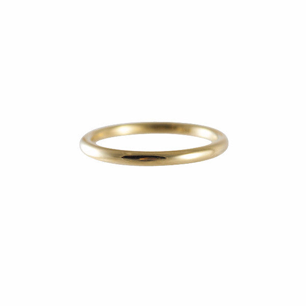 Kathleen Whitaker 14k Medium Tube Band Ring