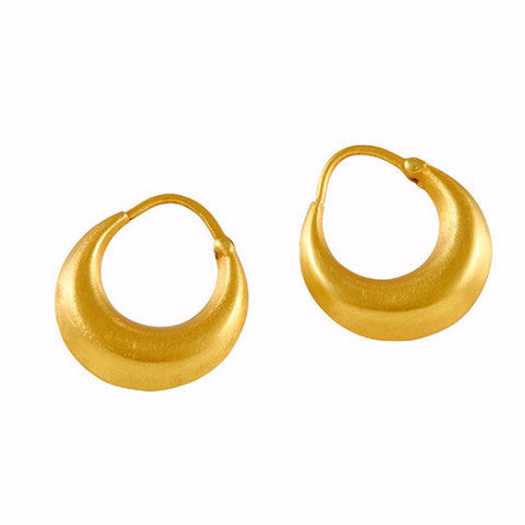 Gillian Conroy 18k Small Ruchi Hoop Earrings