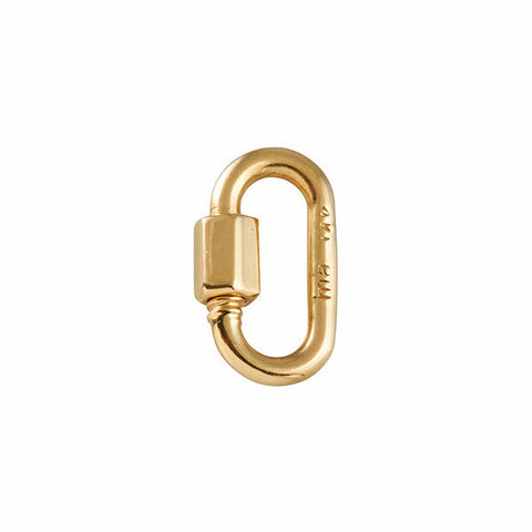 Marla Aaron 14k Yellow Gold Baby Lock