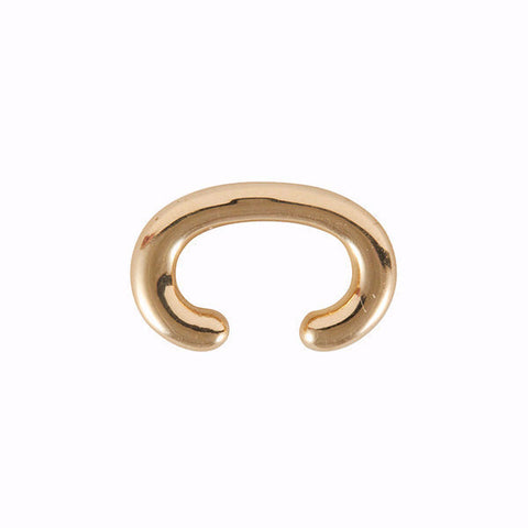 Marla Aaron Yellow Gold Ear Cuffling