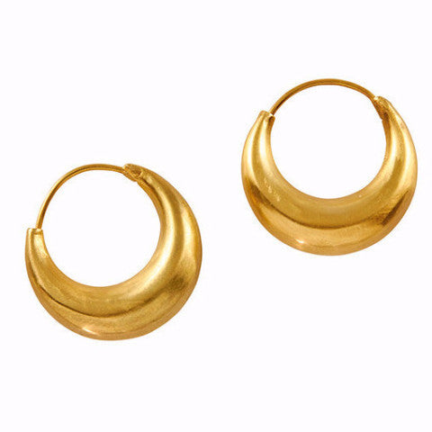 Gillian Conroy 18k Large Ruchi Hoops