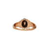 Antique Victorian 14k Rose Gold Rose Cut Diamond Ring