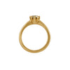 Rebecca Overmann 14k Grey Diamond Ring
