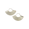 Kathleen Whitaker Sterling Silver Fan Earrings