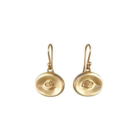 Gabriella Kiss Pair of 10k Small Eye Earrings
