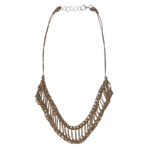 Arielle de Pinto Slink Necklace in Haze