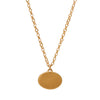 Gabriella Kiss 10k Small Eye Love Token Necklace