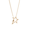 Marla Aaron 14k Yellow Gold Star Lock