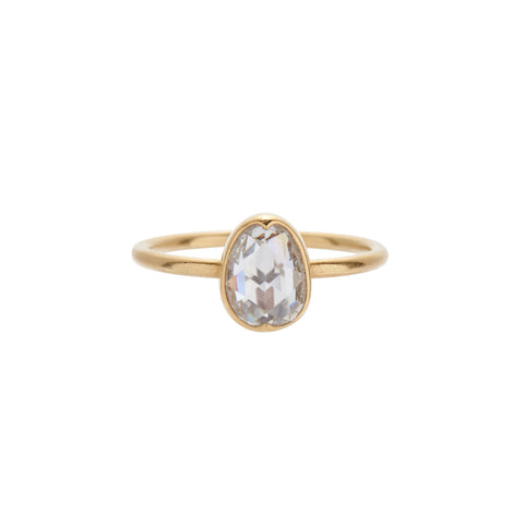Gabriella Kiss 18k & Rose Cut Diamond Ring - 1.11ct