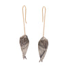 Gabriella Kiss Silver Sleeping Birds Earrings