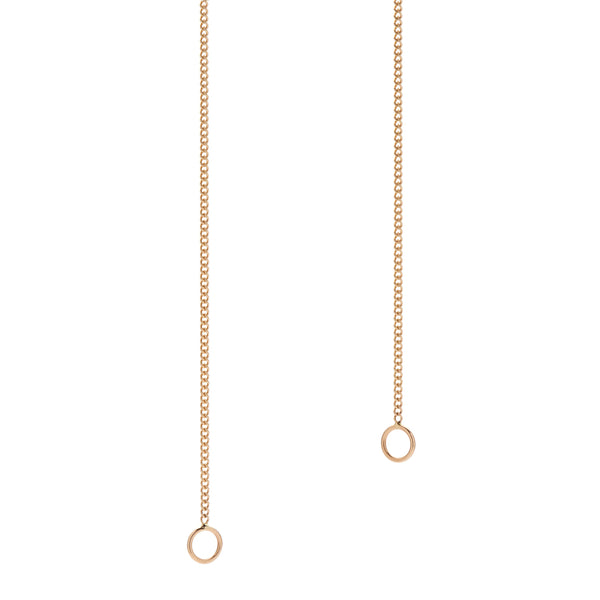 Marla Aaron 14k Yellow Gold Fine Curb Link Chain