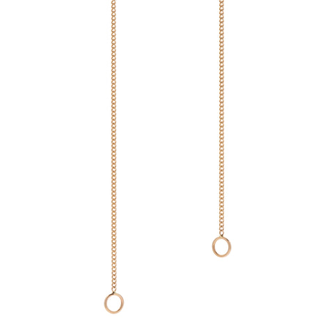 Marla Aaron 14k Yellow Gold Medium Curb Link Chain