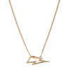 Marla Aaron 14k Yellow Gold Bolt Lock