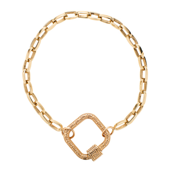 Marla Aaron 14k Yellow Gold Biker Chain - 6.5""